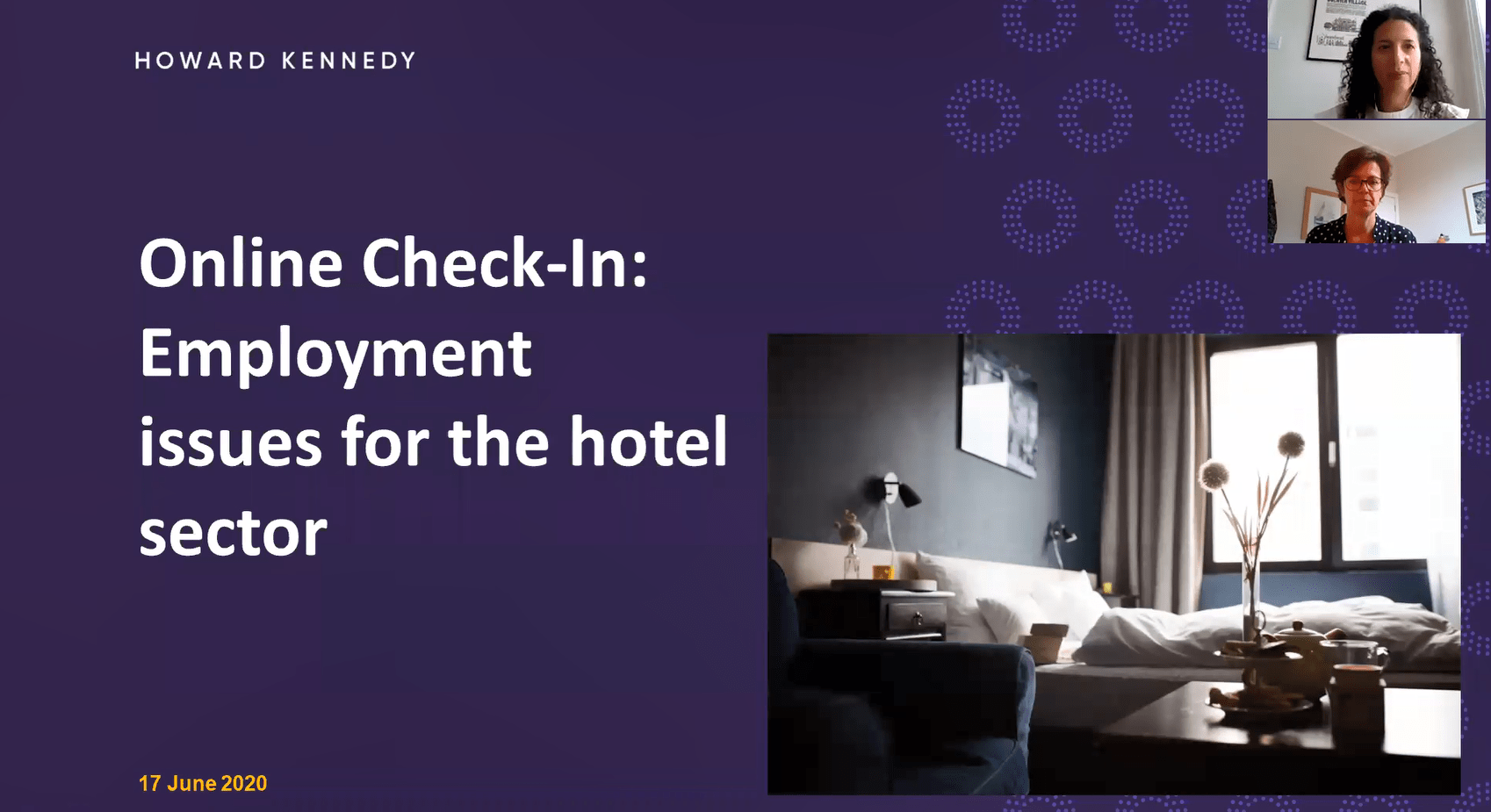What is next on the agenda Employment considerations for the hotel industry.